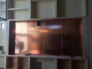 Copper Wine Storage