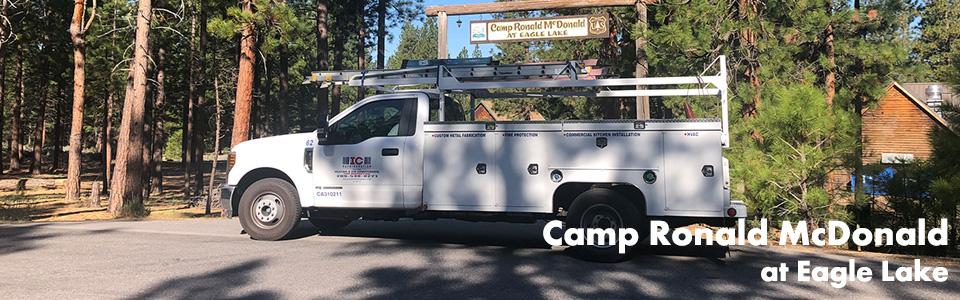 Camp Ronald McDonald at Eagle Lake